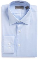 John W. Nordstrom Trim Fit Non-Iron Solid Dress Shirt