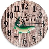 Bed Bath & Beyond Gone Fishin' Wall Clock