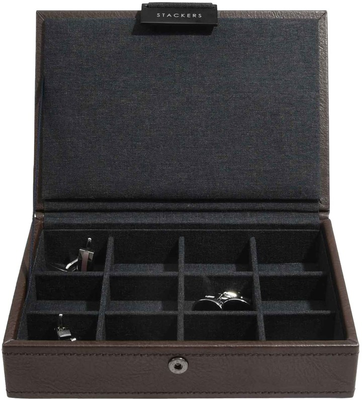 Stackers Lidded Cufflink Box