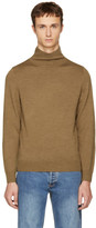 A.P.C. Brown Dundee Turtleneck