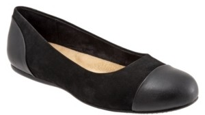 SoftWalk Sonoma Cap Toe Flats Women's Shoes
