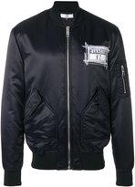 Versus Zayn X bomber jacket - men - Acrylic/Polyamide/Polyester/Wool - 48