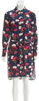 Equipment Silk Oversize Shirt-Dress