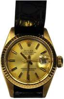 Rolex DateJust Lady yellow gold watch