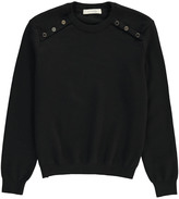 Sessun Merino Shoulder Button Caprisport Pullover
