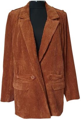 Gestuz Brown Velvet Jackets