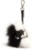 Fendi Bag Bugs Pompom Fur Key Charm