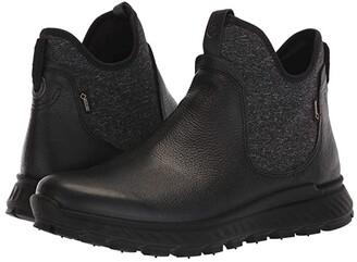 Ecco Sport Exostrike GORE-TEX(r) Boot (Black) Women's Boots