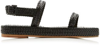 ST. AGNI Lori Woven Leather Sandals