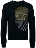 Wooyoungmi circular pattern sweatshirt - men - Cotton - 48