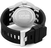 Invicta Women's 10437 DNA Red Dial Black Silicone Watch