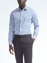 Camden-Fit Cotton Stretch Non-Iron Tri-Tone Shirt