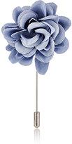 Lanvin Men's Rose Tiepin-LIGHT BLUE