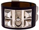 Hermes Collier de Chien Alligator Bracelet