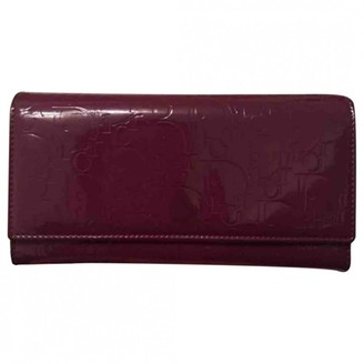 Christian Dior Purple Patent leather Purses, wallets & cases