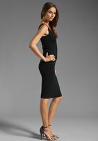 Catherine Malandrino Sleeveless Deep V Neck Dress
