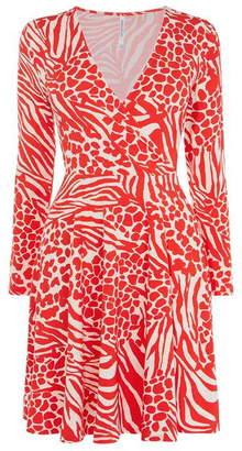 Karen Millen Animal Print Mini Dress
