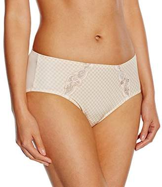 Rosa Faia Women's 1476 Checkered Brief,(Manufacturer Size:42)