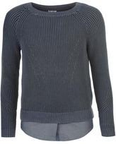 Firetrap Blackseal Knitted Jumper Shirt