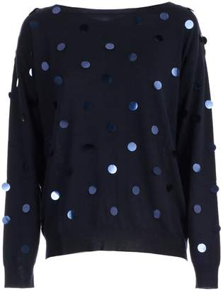 P.A.R.O.S.H. Sweater L/s W/macro Paillettes