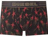 Diesel Damien Star Print Trunks, Black