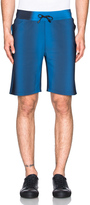 Calvin Klein Collection Kelly Performance Wave Print Shorts