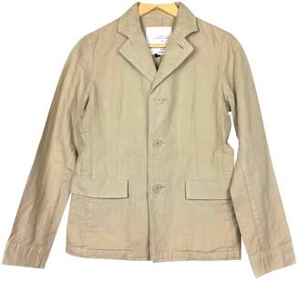 Pas De Calais Beige Cotton Jacket for Women
