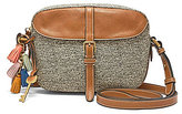 Fossil Kendall Tasseled Straw Cross-Body Bag