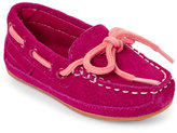 Cole Haan Toddler Girls) Electra Pink Moc Toe Grant Drivers