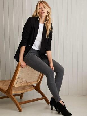 Mint Velvet Denver Biker Jeans - Grey