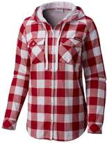 Columbia Women's Alabama Crimson Tide Times Two Hooded Button-Down Shirt