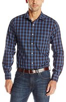 Nautica Men's Long Sleeve Large Plaid Shirt