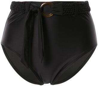 Duskii Fleur high waist bikini bottoms