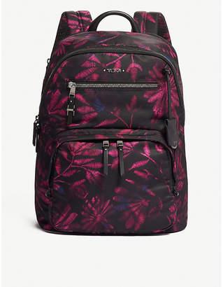 Tumi Hartford floral woven backpack