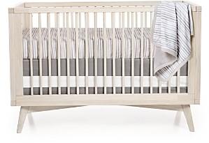 Oilo Woven Cotton Band Crib Skirt