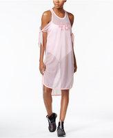Puma Xtreme Mesh Cold-Shoulder Dress