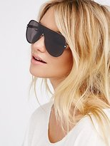 Free People Eleventh Hour Shield Sunglasses