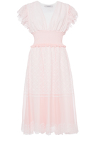 Serafini Philosophy di Lorenzo Embroidered Creponne Short Dress