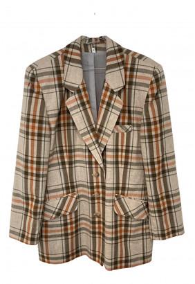 Non Signã© / Unsigned Oversize Beige Cotton Jackets