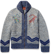 Missoni - Intarsia Wool, Alpaca And Cashmere-blend Cardigan