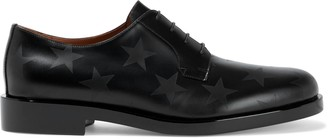 Valentino Printed Leather Brogues