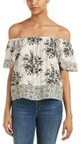 Flying Tomato Off-the-shoulder Blouse.