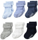 Jefferies Socks Non-Skid Turn Cuff 6-Pack (Infant/Toddler)