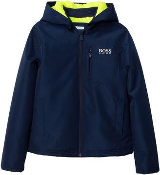 HUGO BOSS Kids Boy Blue Jackets
