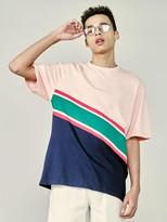[Unisex] Line Block Tee Pink