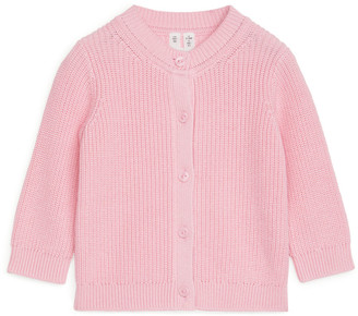 Arket Cotton Silk Cardigan
