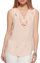 Jessica Simpson Jade Solid Sleeveless Top