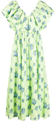 Emilia Wickstead Jarvis floral print maxi dress