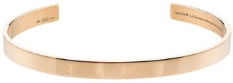 Le Gramme Logo Engraved Bangle