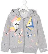 Fendi monster butterfly print sweatshirt